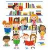 Библиотека, книжка, я –  вместе верные друзья