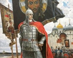 «За землю русскую» из серии «Русь изначально», худ. Ю. Пантюхин